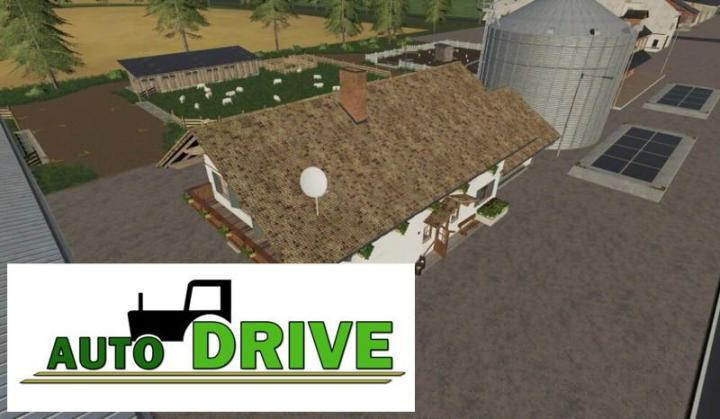 FS19 - Autodrive Courses For Big Fields Farm V1