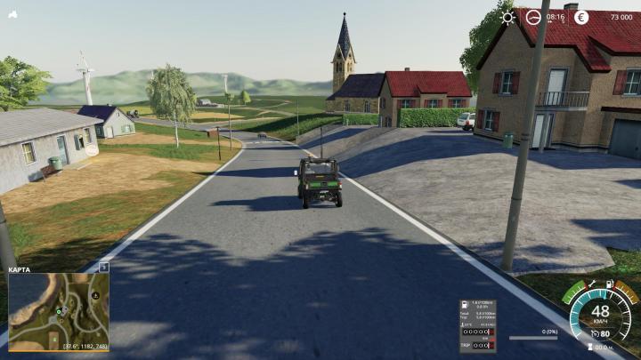 FS19 - Autodrive-Kurse Fur Giants Island V1.0.2