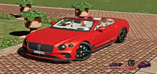 Photo of FS19 – Bentley Continental Gt Convertible Number 1 Edition V1
