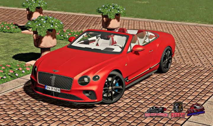 FS19 - Bentley Continental Gt Convertible Number 1 Edition V1