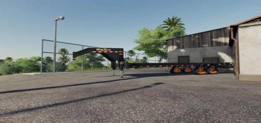Photo of FS19 – Bigtex Trailer With Tracks V1