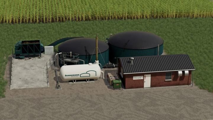 FS19 - Biogas Plant 450Kw V1