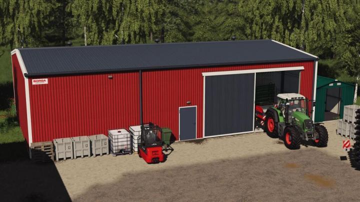 FS19 - Borga Warehouse V1