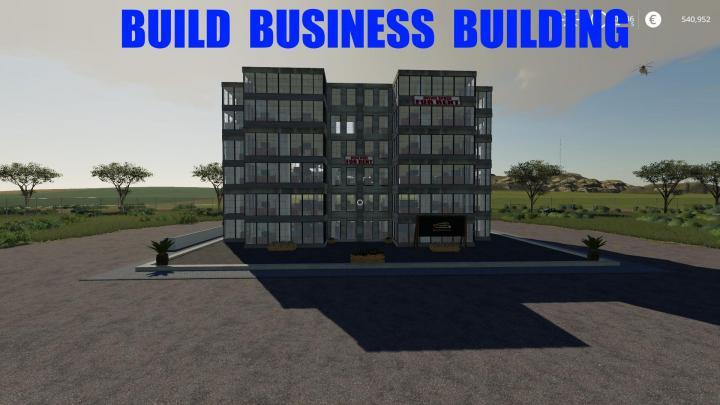 FS19 - Build A Business Building V1