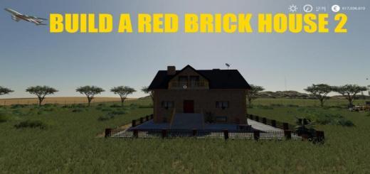 Photo of FS19 – Build A Redbrick House 02 V1