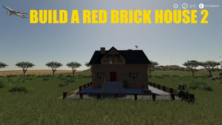 FS19 - Build A Redbrick House 02 V1