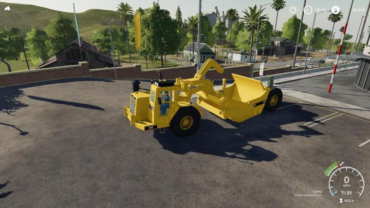 FS19 - Cat 631D Wheel Tractor Scraper V1