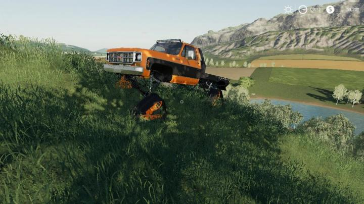 FS19 - Chevy 79 Singlecab Ds Tracks V1