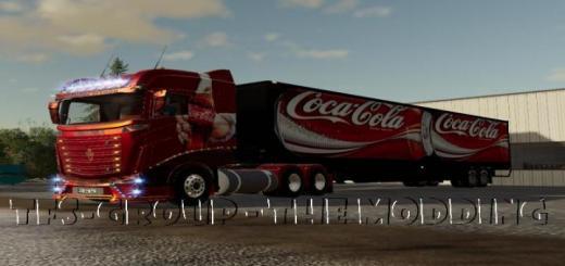 Photo of FS19 – Coca Cola Trailer V2