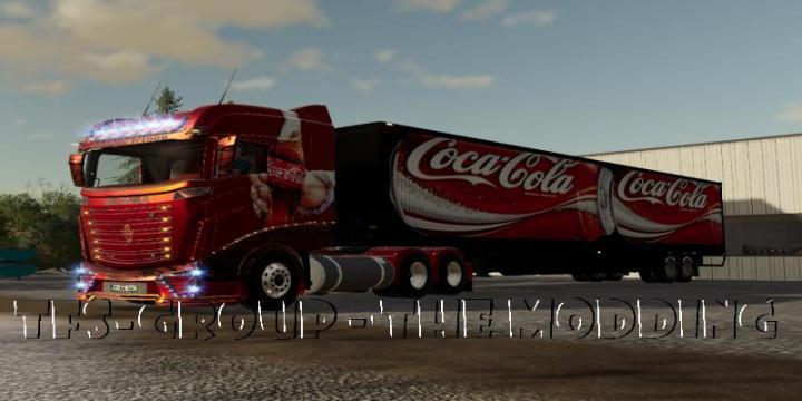 FS19 - Coca Cola Trailer V2