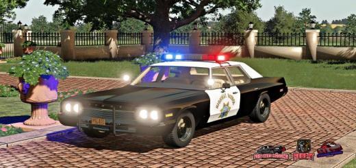 Photo of FS19 – Dodge Monaco Police 1974 V1