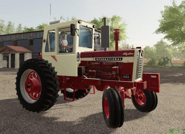 FS19 - Farmall Ih 6 Series V1