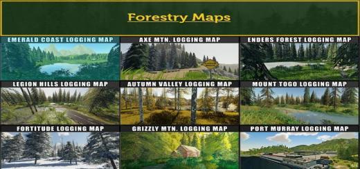 Photo of FS19 – Fdr Logging Mods Pack Feb – 2021 V1