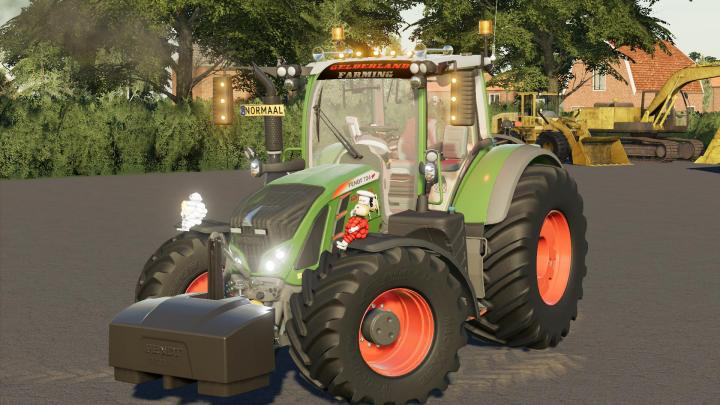 FS19 - Fendt 700 Vario Gld Team V2