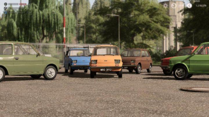 FS19 - Fiat 126P Pack V1