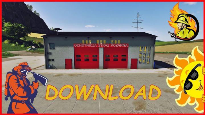 FS19 - Fire Station Placeable V1