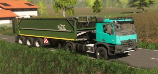 Photo of FS19 – Fliegl Green Tec 381 V1