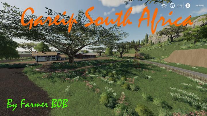 FS19 - Gariep South Africa Map V009