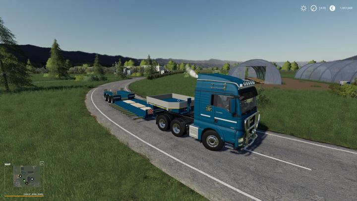FS19 - Goldhofer Low Loader With Extensions Fixed V1.1