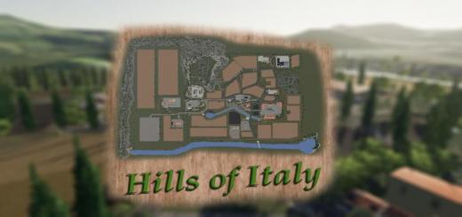 Photo of FS19 – Hills Of Italy Map V1