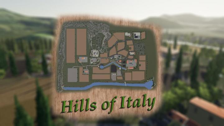 FS19 - Hills Of Italy Map V1