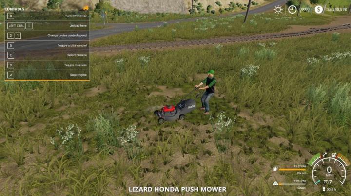 FS19 - Honda Pushmower V1