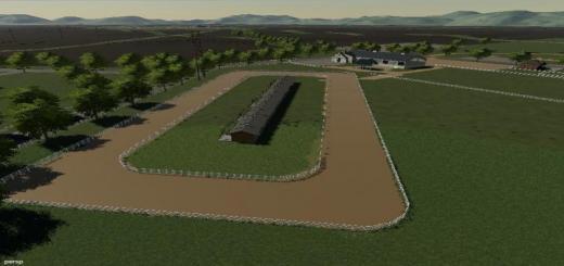 Photo of FS19 – Horse Race Track V1