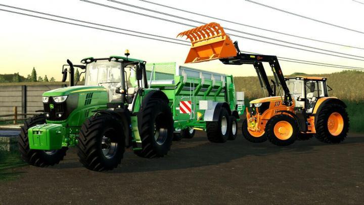 FS19 - John Deere 6M Series 2020 V3