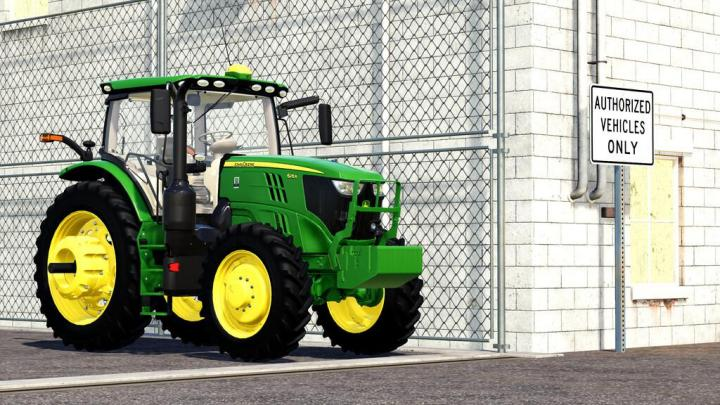 FS19 - John Deere 6R Us Series V1