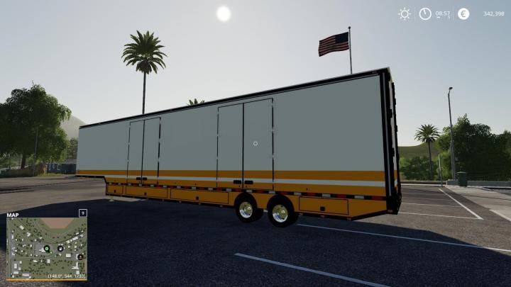 FS19 - Kentucky Moving/Storage Trailer V1