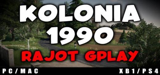 Photo of FS19 – Kolonia 1990 Map V1.2
