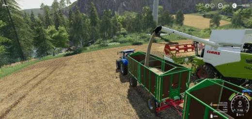 Photo of FS19 – Kroger Agroliner Hkd 302 Trailer V1