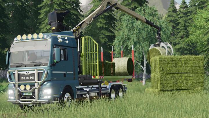 FS19 - Man Tgx Crane Hkl V1