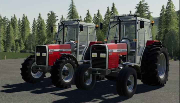 FS19 - Massey Ferguson 365 V2