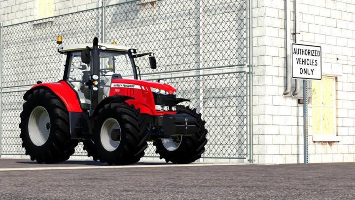 FS19 - Massey-Ferguson 7600 Tractor V1