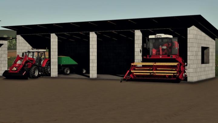FS19 - Medium Garage V1