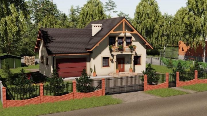 FS19 - Modern Decorative House V1