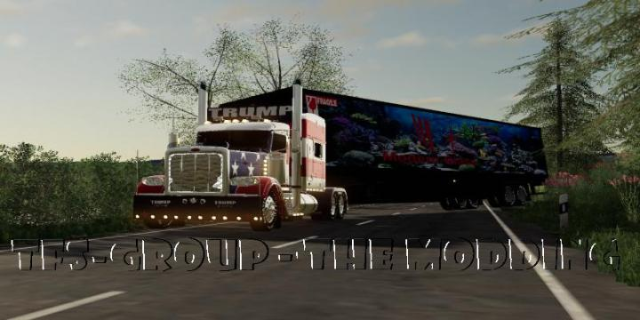 FS19 - Modren Glass Trailer V2