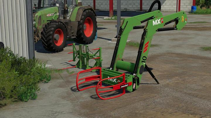 FS19 - Mx Frontloaders And Tools Pack V1.1