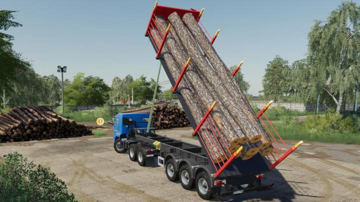 FS19 - Nefaz 9509 Logging Truck V1