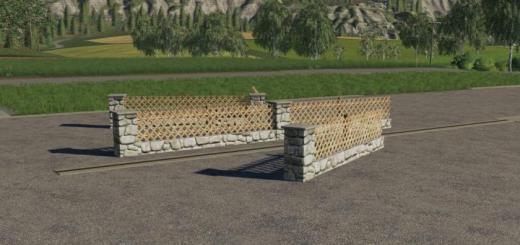 Photo of FS19 – New Fence Pack V1
