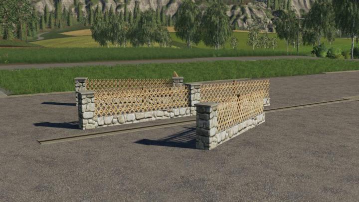 FS19 - New Fence Pack V1