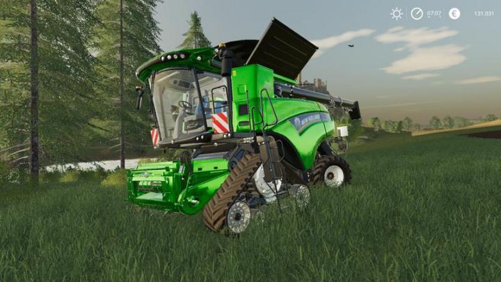 FS19 - New Holland Cr10.90 With Cutting Unit For Sugar Cane V1