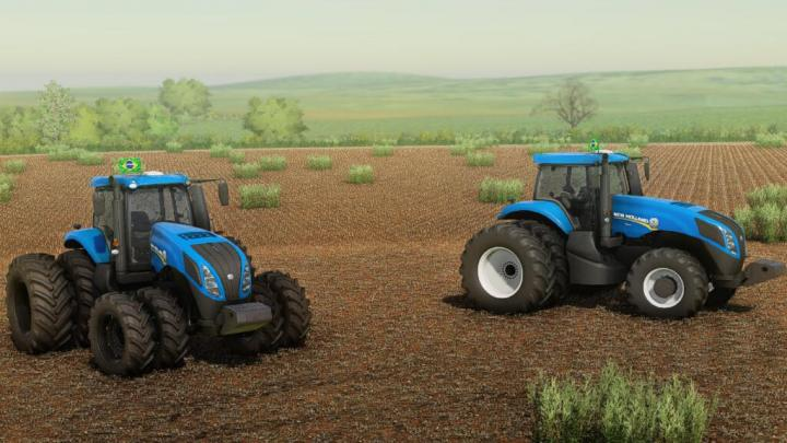 FS19 - New Holland T8 Series South America V1