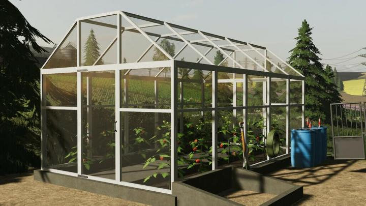 FS19 - Pack Of Polish Greenhouses With Tomatoes V1.1