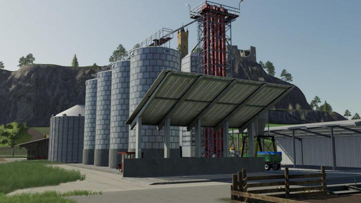 FS19 - Placeable Ks67 Grain Silo V1