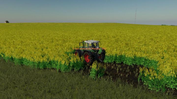 FS19 - Player Pays For Crop Destruction V1.1