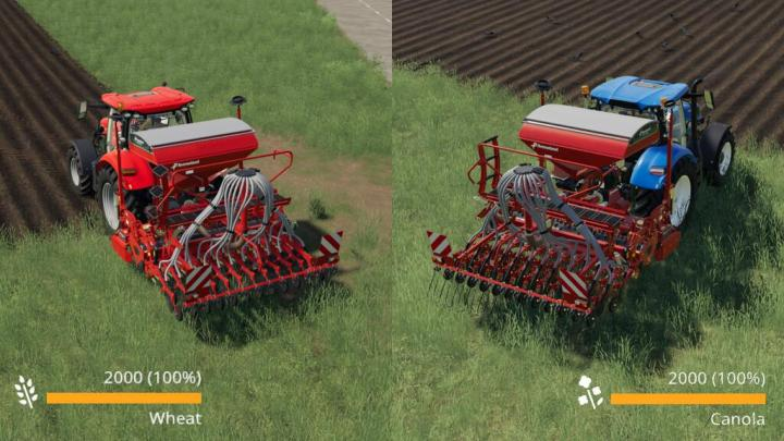 FS19 - Real Seeds Usage V1.1
