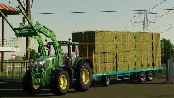 FS19 - Rolland Rp Lch Trailers V1