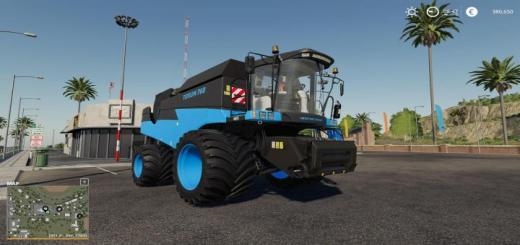 Photo of FS19 – Rostelmash Torum 760 Blue V3